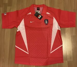 New Nike South Korea 2002 FIFA World Cup Jersey Soccer Rare Pink L Large NWT