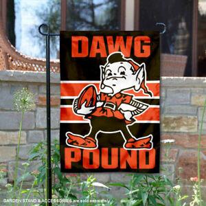 Cleveland Browns Dawg Pound Garden Yard Banner Flag