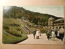 1911 Used Postcard- THE SPA TERRACE, SCARBOROUGH, Yorkshire + STAMP