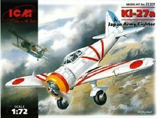 Avion de chasse Japonais NAKAJIMA Ki 27 A - KIT ICM 1/72 - N° 72201