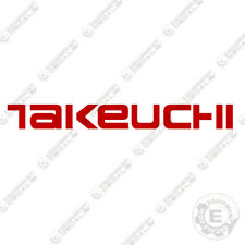 Takeuchi Heavy Equipment Decals & Emblems Decal for sale   eBay
