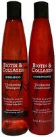 Biotin & Collagen Thickening Hair Shampoo & Conditioner For Thick Hair 400ml