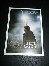 THE LAST LEGION, film card [Colin Firth, Ben Kingsley]