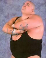 King Kong Bundy autographed 8x10 #6 WWF WWE Free Shipping Deceased