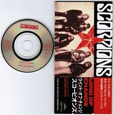 "SCORPIONS Wind Of Change /Restless Nights JAPAN 3"" CD SINGLE PHDR-43 Unsnapped"