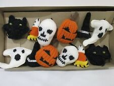 Halloween Garland Pumpkins Ghost Skulls Witch Hats Black Cat Decor Decoration