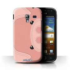 STUFF4 Case/Cover for Samsung Galaxy Ace 2/I8160/Animal Stitch Effect/Pig
