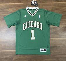 Derrick Rose Chicago Bulls M NBA 2015 St Patrick's Swingman Jersey BNWT