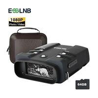 3.6-10.8X Infared Digital Hunting Night Vision Binoculars 3.0 LCD for Hunting