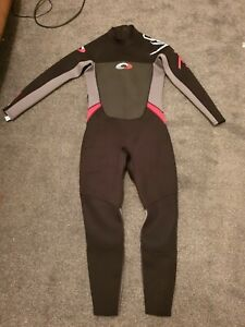 Osprey Size M Full Length Wetsuit Scuba Suit Black and Grey