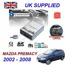 For MAZDA PREMACY MP3 SD USB CD AUX Input Audio Digital CD Changer Module