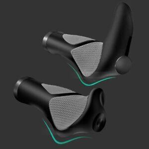 1 Pair Mountain Bike Bicycle MTB Grips Lock on Plugs Ergonomic Handlebar Grip