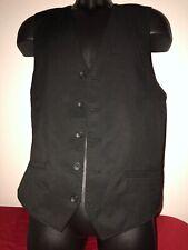 Claiborne Slim-fit performance stretch suite vest