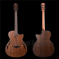 40 inch Walnut Top, Back & Sides Acoustic Guitar of Pango music (PWK-023)
