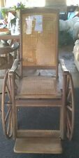 1840's ANTIQUE Wheelchair SARGENT MFG.CO. MICH&NY. FABULOUS COND. L@@K!!!