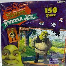 NEW Sealed 2006 Shrek 150 Piece Puzzle W/ Sticker & Poster