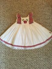 Well Dressed Wolf King is Born Dress Size 18 Months Girls
