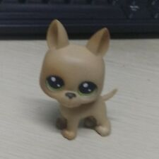 Littlest Pet Shop LPS German Shepard Dog with Green Eyes Xmas Gift Toy