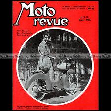 MOTO REVUE N°1255-c NSU SUPER FOX ONDINE PEUGEOT AUTOMOTO BSA ERIC OLIVIER 1955