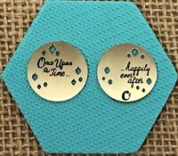 Authentic Origami Owl Medium Silver Once Upon a Time Plate