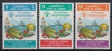Kuwait 1972 ** Mi.551/53 FAO Lebensmittel Groceries Food Schiff Ship