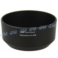 JJC Black Lens Hood Shade Cover for Olympus M.ZUIKO Digital 45mm f/1.8 as LH-40B