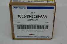 4C3Z9942528AAA - NAME PLATE - Ford