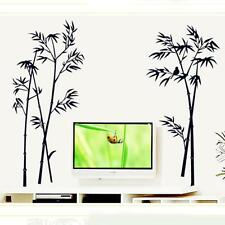 DIY Removable Bamboo Pattern PVC Art Vinyl Wall Sticker Home Room Mural Decor