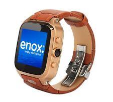ENOX Wsp8802 40gb Android Smartwatch Handyuhr SIM WLAN 5 MP Kamera GPS Gold/braun