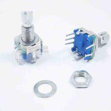 1PCS Rotary encoder with switch EC11 Audio digital potentiometer 15MM handle S