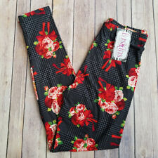 Buskins Leggings Corsages Of Charm Flowers Roses Love One Size