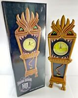 NEW Disney The Haunted Mansion 13 Hour Glow In The Dark Resin Table Clock