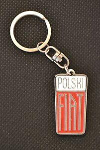 Fiat Polski 125p  1300 1500 Metall Schlüsselanhänger keychain key chain ring