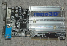InnoVision Inno3D nVIDIA GeForce FX5200 128MB DDR AGP VGA PASSIVE FULL WORK