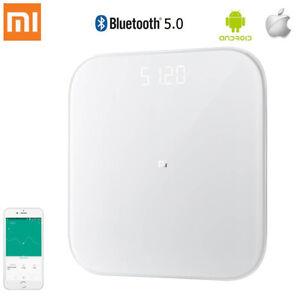 Xiaomi Mi Smart Scale 2 White Glass Digital Bluetooth 5.0 For Home Bathroom