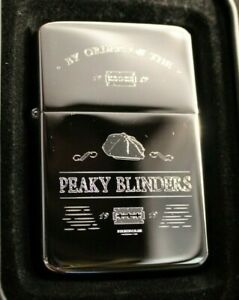Peaky Blinders Solid Brass Lighter in Chrome - Free Engraving-Ideal Gift