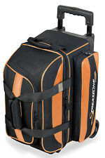 Storm Streamline 2 Ball Double Roller Bowling Bag Orange