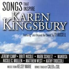 CD CANZONI Karen Kingsbury Jeremy Camp Britt Nicole Mandisa Matthew West... NUOVO