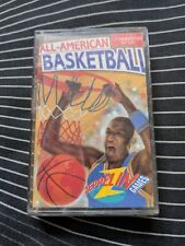 ALL-AMERICAN BASKETBALL - COMMODORE 64 CBM 64/128 CASSETTE TAPE - WITH COVER
