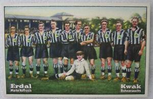 FUSSBALL FOOTBALL ERDAL-KWAK SERIE 34 BILD 3 DFB SÜDD. POKAL 1927/28 SpVgg FÜRTH