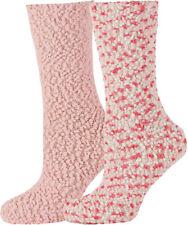 2 Pairs Fluffy Bobble Socks