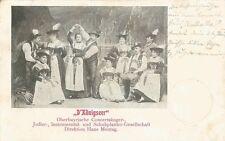 D'Königseer, Bayrische Jodler, Schuhplattler, Theater, Varieté, Schrammel-Musik