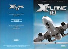 X plane 10 Global Edition PC MAC LINUX NEW! *FAST SHIP*