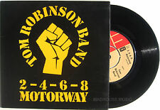 "Punk TRB 7"" 2-4-6-8 Motorway UK Card Sleeve TOM ROBINSON BAND Excellent 1977"