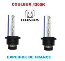 2 AMPOULES XENON HONDA ACCORD CR-V CR-Z  FR-V 35W Insight Legend 4300K NEUF