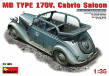 MiniArt 1/35 Scale - MB TYPE 170V Cabrio Saloon Plastic Model Kit 35103