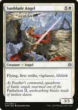 1x * Foil * Sunblade Angel MtG War of the Spark [WAR] Unplayed, Near Mint
