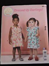 Dressed Up Darlings Toddlers' Dresses Ellie Mae Kwik Sew K215 Sewing Pattern