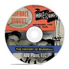 Spalding's Official Baseball Guide, Baseball Digest, Baseball History, DVD E80