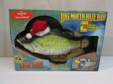 Big Mouth Billy Bass Christmas Singing Fish Vintage 1999